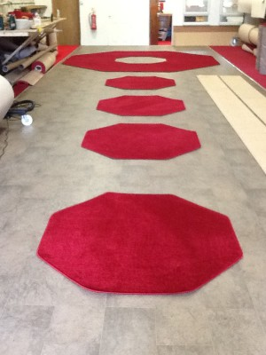 Octagon Shaped Carpet